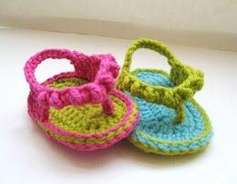 Le Ciabattine si fanno piccine (credit: Crochet Dreamz)