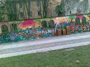 La street art secondo Zam, anch'essa nel mirino della MiLagna