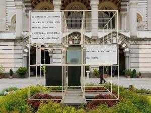 Studio BBPR - Monumento in onore dei caduti nei campi di sterminio nazisti, al Cimitero Monumentale