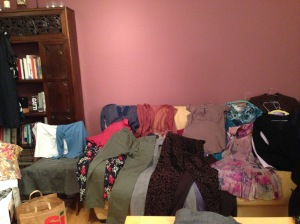 Ecco gli abiti in bella mostra, pronti per essere swappati!