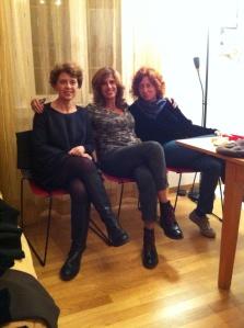 Tre partecipanti Ciabattine: Ciabattinasx, Ciabattinadx e Laura-Dì che ottimamente collabora alla rubrica Milano By Morning