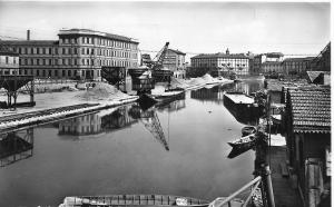Il porto di Milano nella prima metà del sec. XX