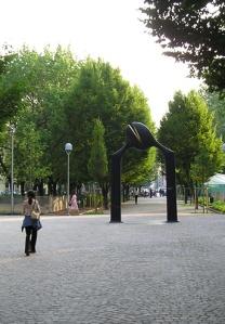 La scultura  di Kan