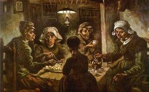 I mangiatori di patate- Van Gogh, 1885