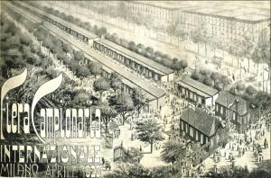 La prima Fiera Campionaria di Milano nel 1920 (photo:www.imprese.san.beniculturali.it).