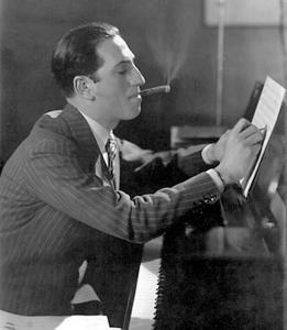 Il compositore George Gershwin
