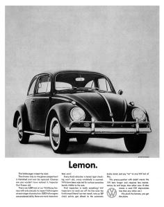 """Mitico annuncio pubblicitario, Lemon si traduce in """"scartato"""", più sotto scoprite perchè"""
