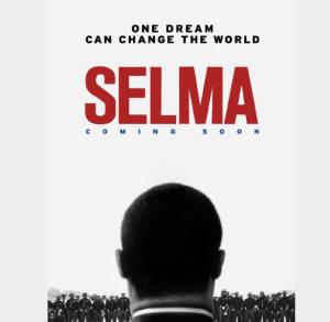 La locandina del bel film che racconta un'epica pagina della  lotta di Martin Luther King per i diritti civili