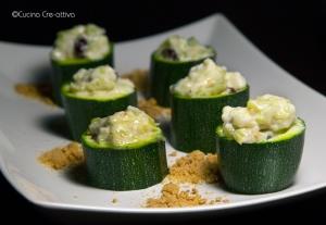 Le nuove Zucchine del Visconti, antica ricetta rivisitata dalla chef Mariangela Marchesi (phot.Elly Aucone)