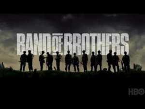 Band of Brothers, splendida miniserie sulla II Guerra Mondiale prodotta da Steven Spielberg e Tom Hanks