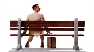 La famosa panchina di Forrest Gump con un Tom Hanks da Oscar