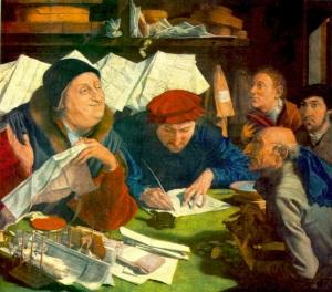 Marinus Van Reymerswaele-Prestatori di denaro-1542