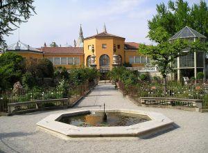 Una vista dell'Orto botanico di Padova, dichiarato Patrimonio dell'Umanità